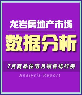 龙岩房地产市场 月度报告分析