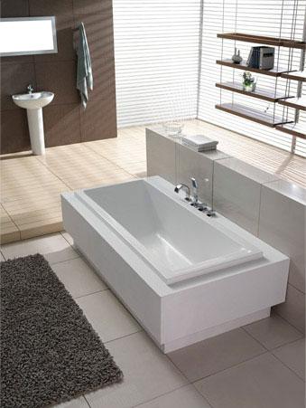 普通单层浴缸建材产品