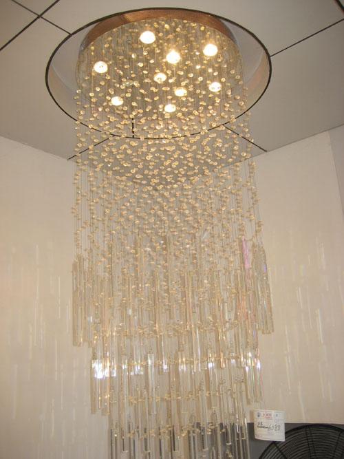 水晶灯1030Φ600H2000