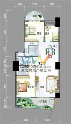 明珠城市广场楼盘户型图