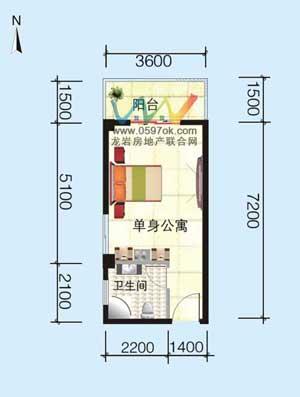 龙腾・新地标户型图