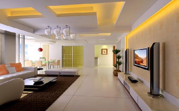 装修案例:客厅效果图