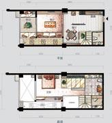 五洲财富广场户型图