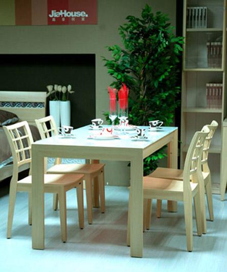 家居建材产品:19L03餐台配19M09餐椅