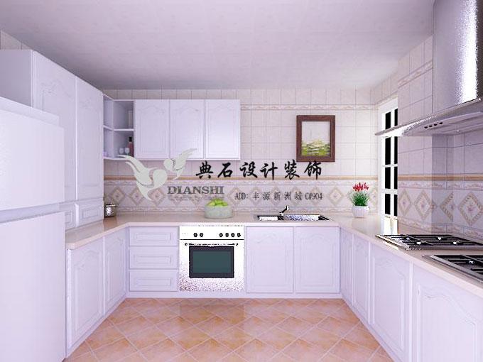 某案例厨房效果图装修案例