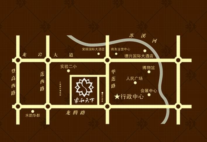 家和天下楼盘交通图