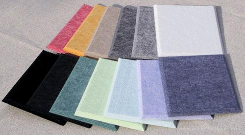 聚酯纤维吸音板建材产品