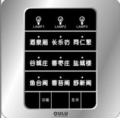 供应智能工程系统触摸屏开关建材产品