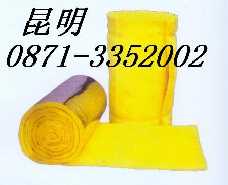 昆明玻璃棉板厂家/玻璃棉管/玻璃棉卷毡建材产品