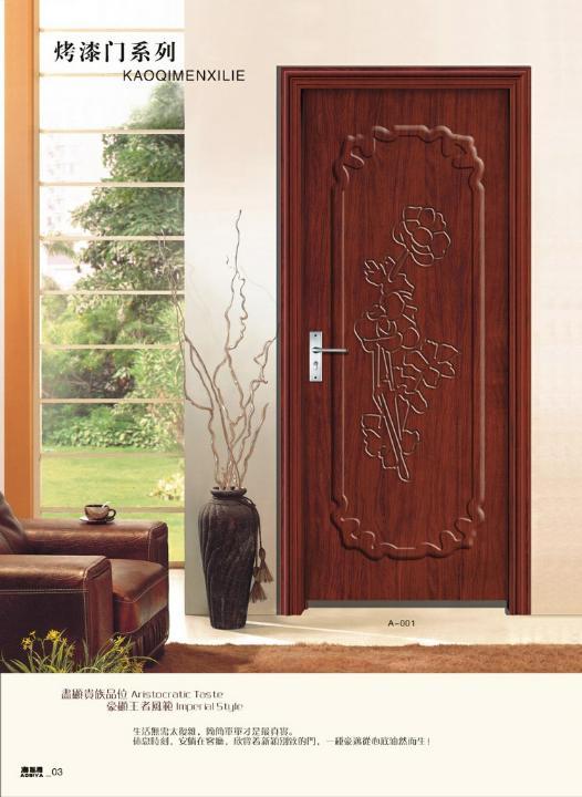 烤漆复合实木门建材产品