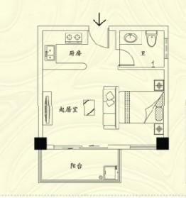 香榭景园户型图