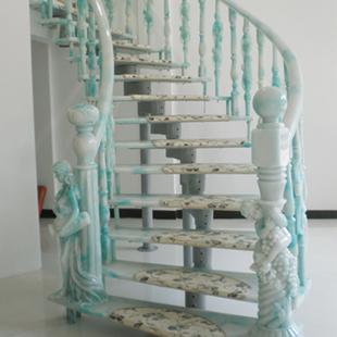 旋转翠玉楼梯建材产品