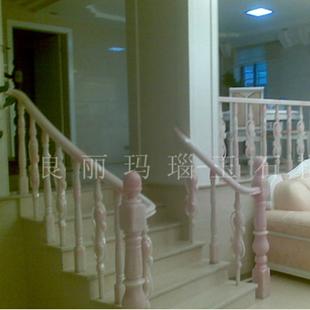 淡玛瑙红楼梯扶手建材产品