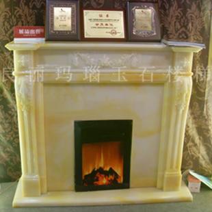 真火壁炉 玉玛瑙壁炉建材产品