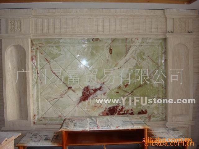 天然玉石背景墙建材产品