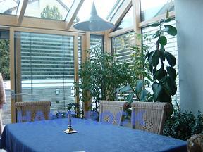 德国原装进口铝木复合阳光房建材产品