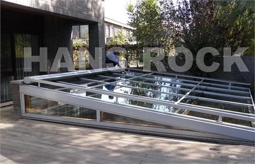 下沉式庭院铝木复合阳光房建材产品
