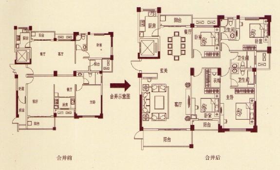 金茂・体育公园1号户型图