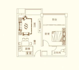 东宝新城户型图