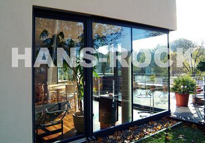 德国汉斯诺克铝木窗德国纯进口高门大窗建材产品