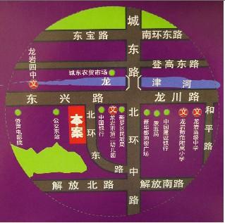 东方明珠楼盘交通图