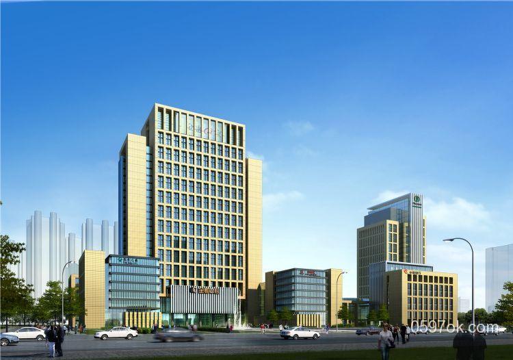金融商务中心楼盘图片
