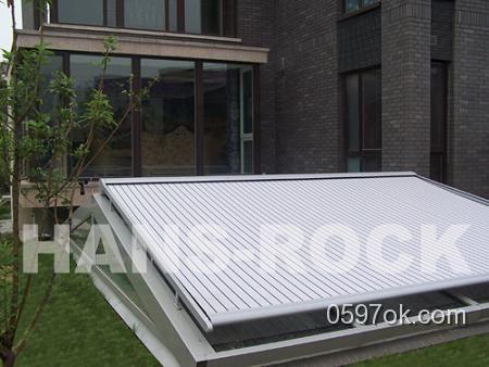 家居建材:德国原装进口遮阳卷帘(铝木复合阳光房配套