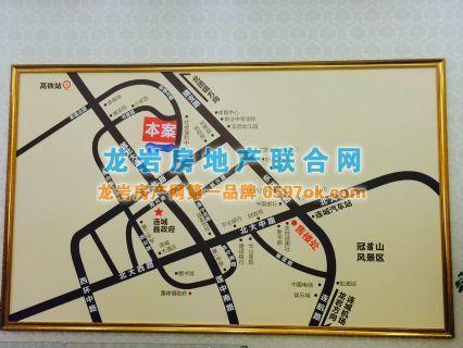 怡景花城楼盘交通图