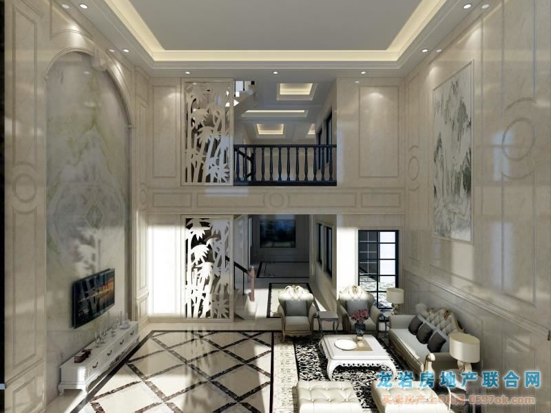 龙岩紫金山玫瑰园别墅6室3厅5卫1#1靖州御园景别墅图片