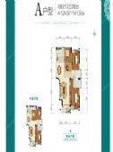 龙地万和城楼盘户型图